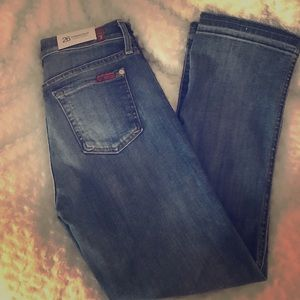 7 for all mankind cropped bootcut